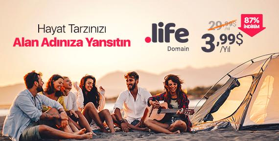 .life Domain ile Hayat Tarzınızı Yansıtın! | Şimdi %87 İndirimli