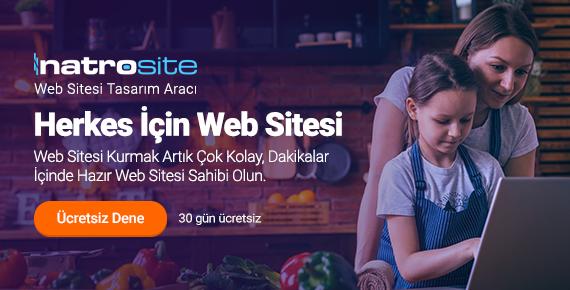 NatroSite ile Dakikalar İçinde Hazır Web Sitesi Sahibi Olun!