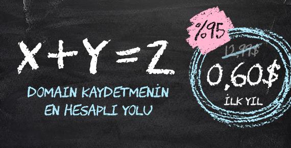 0,60$'a .XYZ domain kaydedin!